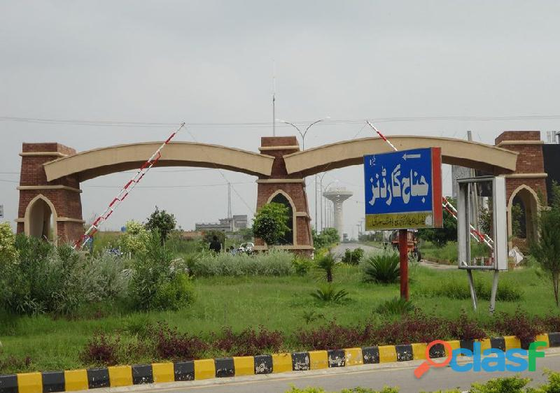 Excellent location 7 marla plot file phase 1 for sale in jinnah garden islamabad