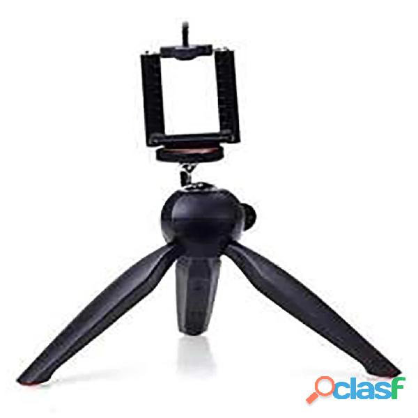 Mini tripod stand for mobiles & dslr camera with phone holder clip