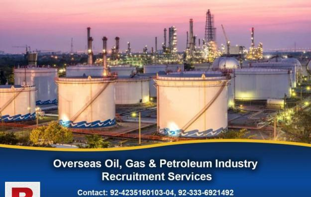 Overseas oil, gas & petroleum industry recruitment services