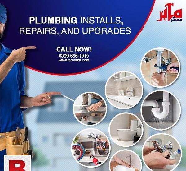 Plumber services (maintenance, repair, install) in lahore