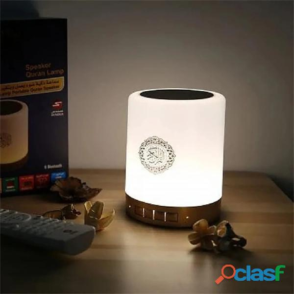 Sq 212 portable quran speaker led touch lamp