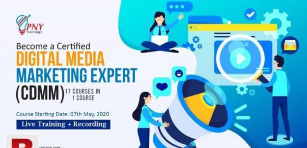 Become a certified digital media marketing expert