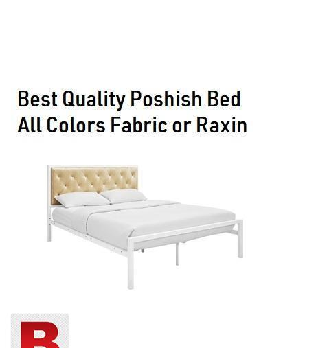 New poshish beds available for sale. instant delivery in
