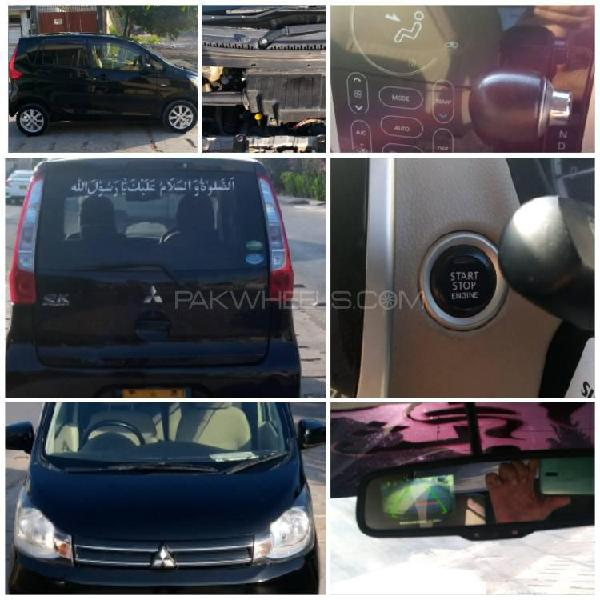 Mitsubishi ek wagon g safety package 2013