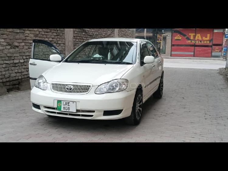 Toyota corolla xli 2002