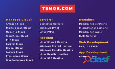 Best Web Hosting | Dedicated Server | Temok IT Services