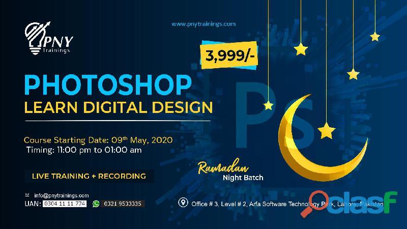 ''Photoshop   Learn Digital Design''