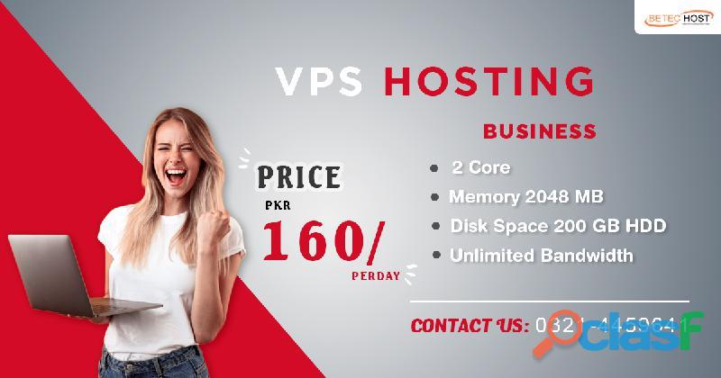 Vps hosting in pakistan   vps hosting packages   betec host