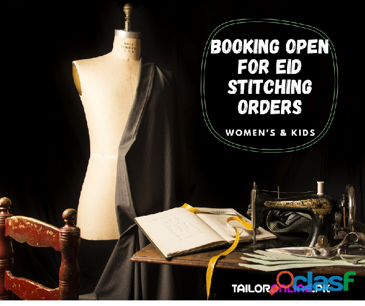 Best Online Tailoring & Stitching Services for Women & Kids in Lahore