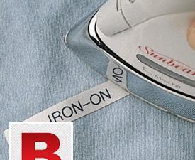 Iron on Personalised Name Clothing Label