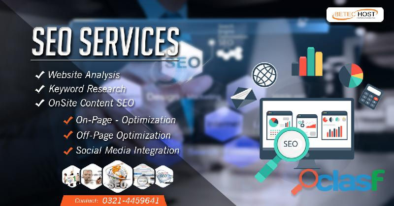 SEO SERVICES IN PAKISTAN   BeTec Host