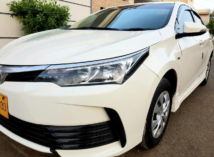 Toyota corolla xli vvti 2017