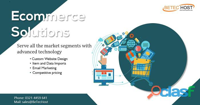 Ecommerce solution in lahore   betec host