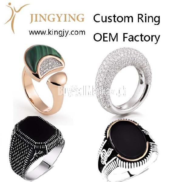 Custom bracelet bangles gold plated silver jewelry supplier