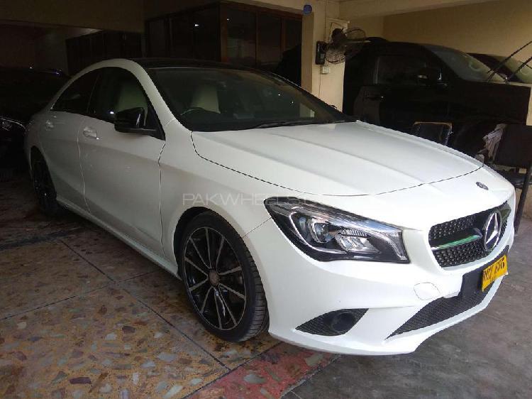 Mercedes benz cla class 2014