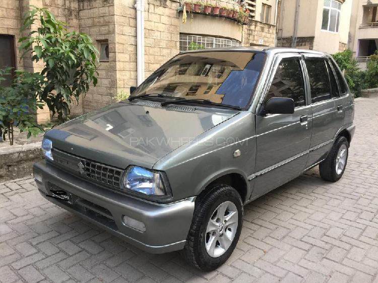 Suzuki mehran vxr euro ii 2013
