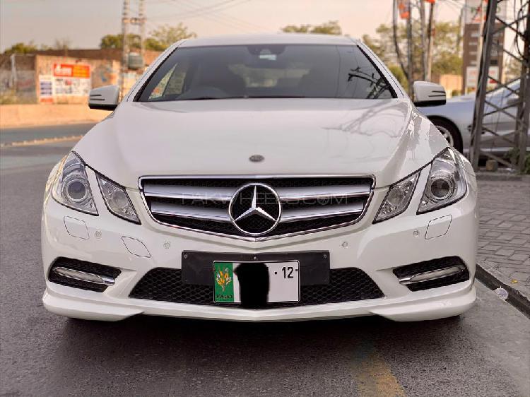 Mercedes benz e class coupe e 250 2012