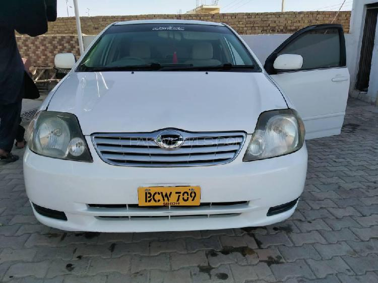 Toyota corolla g l package 1.5 2001