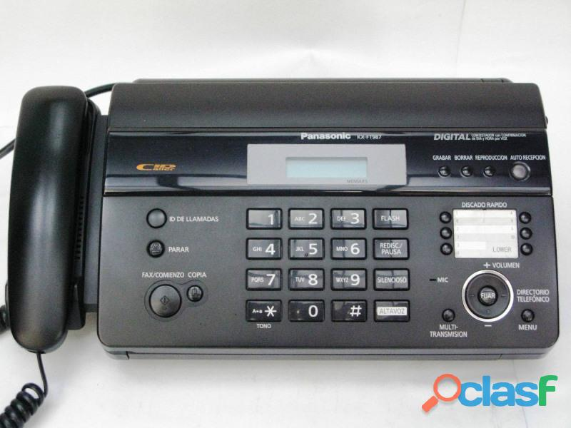 Panasonic kx ft983cx thermal paper fax machine price in lahore.
