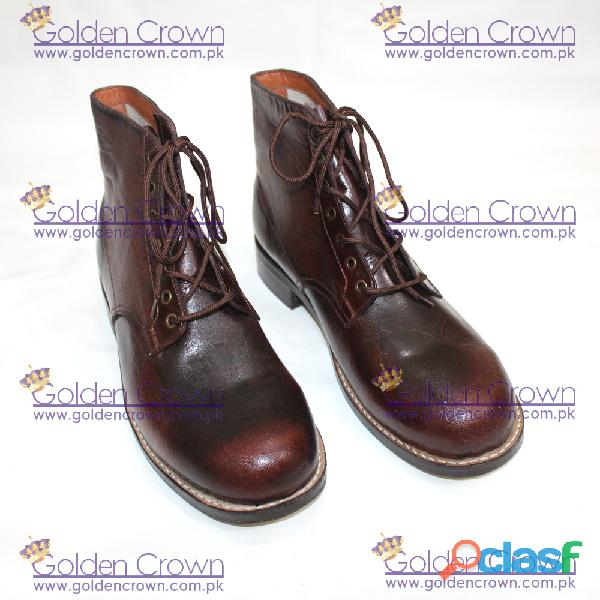 Army leather shoes supplier
