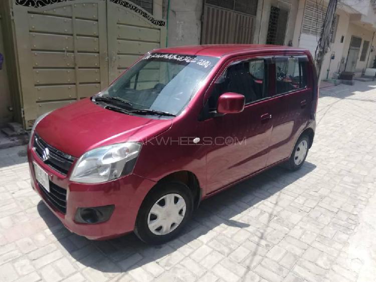 Suzuki wagon r vxl 2015