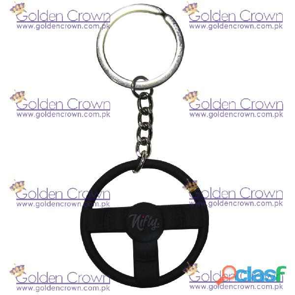 China Rubber Keychain