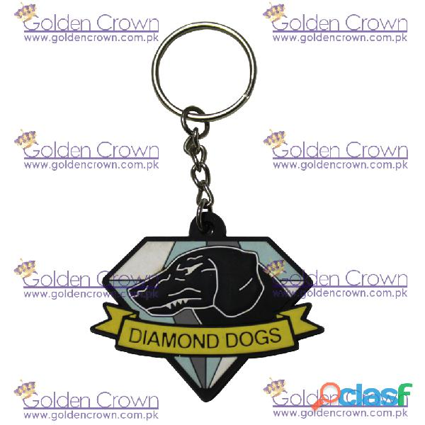 Custom key chain rubber supplier
