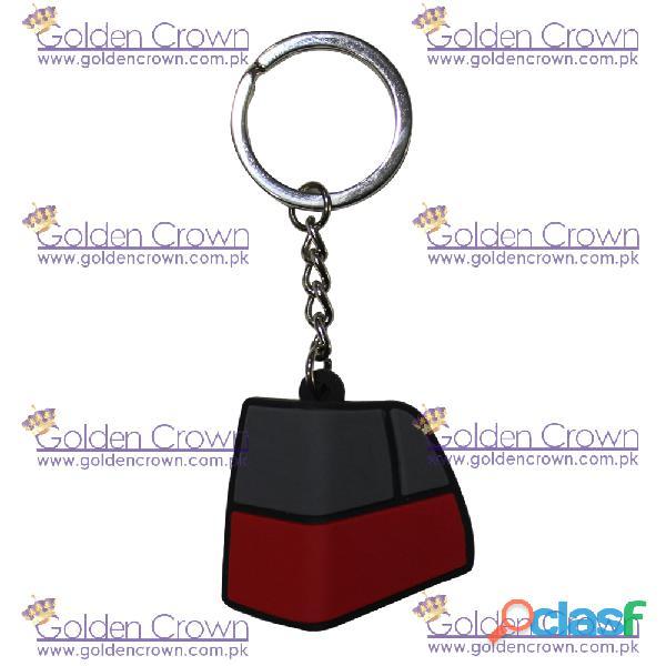 Silicone rubber key chain supplier