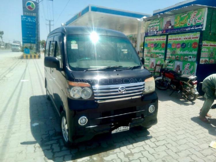 Daihatsu atrai wagon custom turbo rs 2011