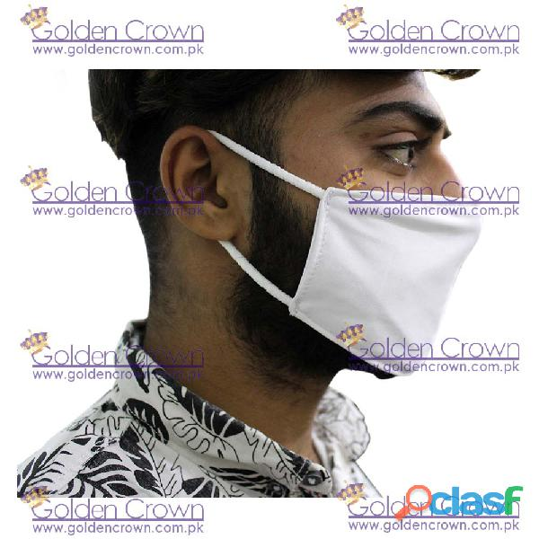 White Polyester Face Mask Supplier 2