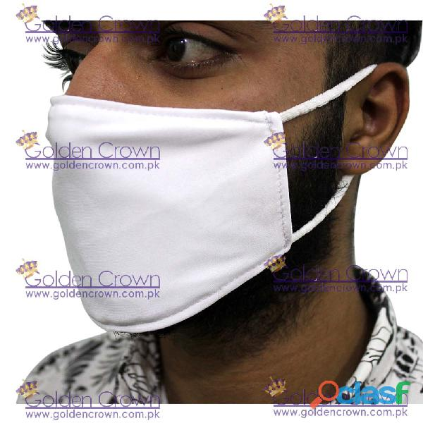White Polyester Face Mask Supplier 4