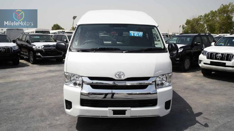 Toyota hiace high roof tourer 2019
