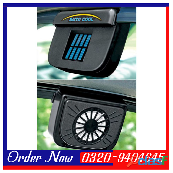 Auto Cool Solar Ventilation Fan AC