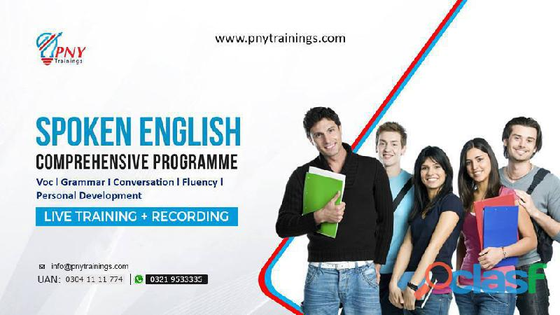 Learn spoken english comprehensive programme