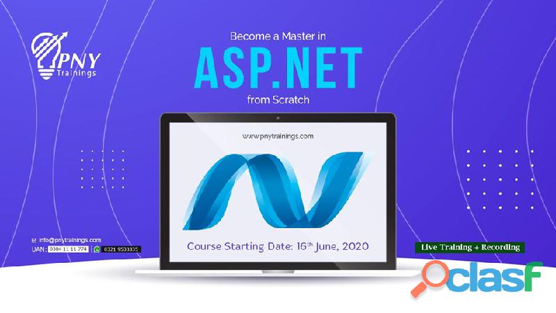 Become a master in asp dot net from scratch!