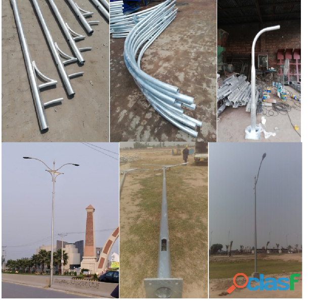 Street Lightning Poles