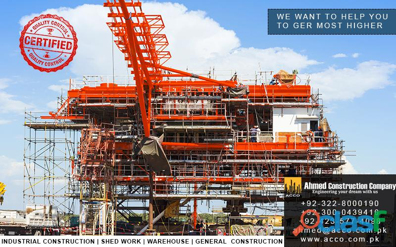 Ahmed Industrial Construction Services