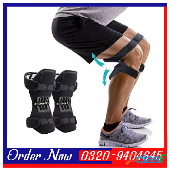 KNEEPAD   Spring Loaded POWER LEG Knee Joint Support Pads In Pakistan