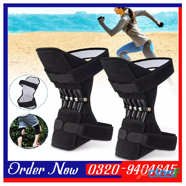 KNEEPAD   Spring Loaded POWER LEG Knee Joint Support Pads In Pakistan 2