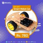 2 wheel smart robot car kit for diy projects, islamabad