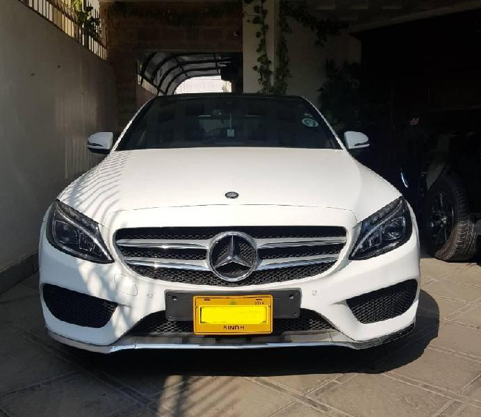 Mercedes benz c class c180 amg 2016