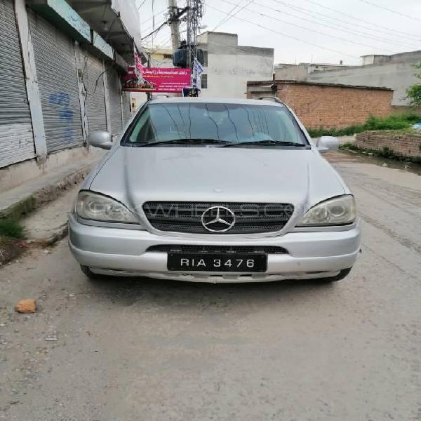 Mercedes benz m class ml 320 cdi 2002