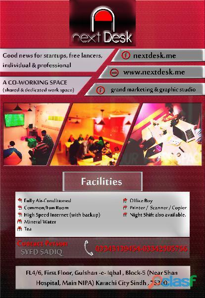 Next desk individuals & professionals