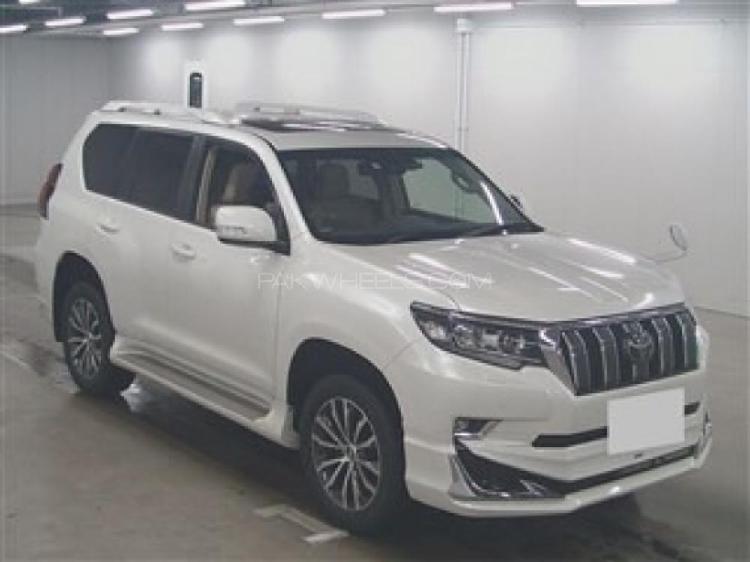 Toyota prado tx l package 2.7 2017