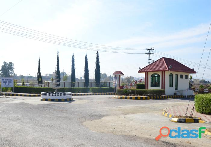 10 marla plot for sale in AWT Housing Block C