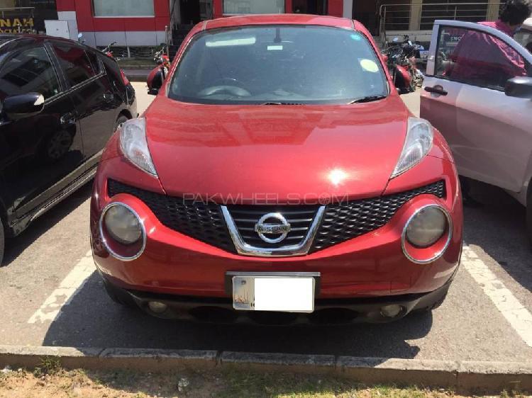 Nissan juke 15rx type v 2012