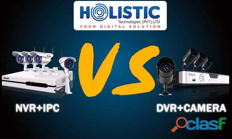 DVR vs. NVR CCTV Cameras | Working, Features and Usability