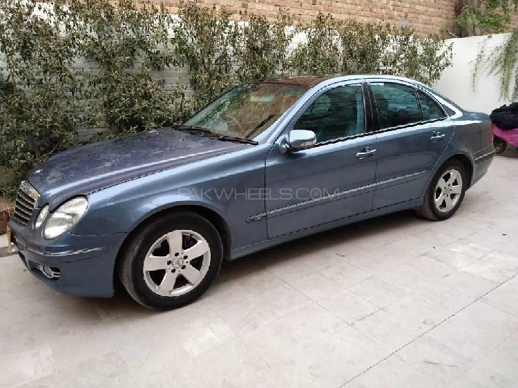Mercedes benz e class e270 cdi 2003