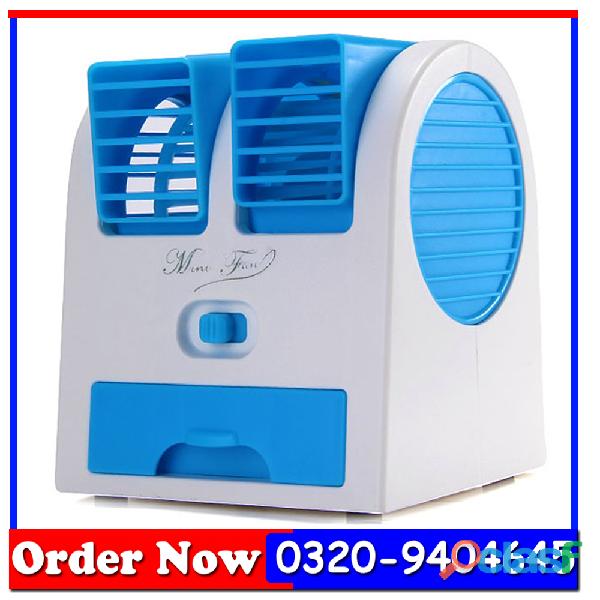 Mini air cooler table fan portable fan in pakistan