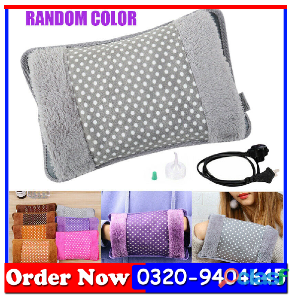 Electric Rechargeable Heating Bottle Heat Hot Water Pad Heating Bag 2